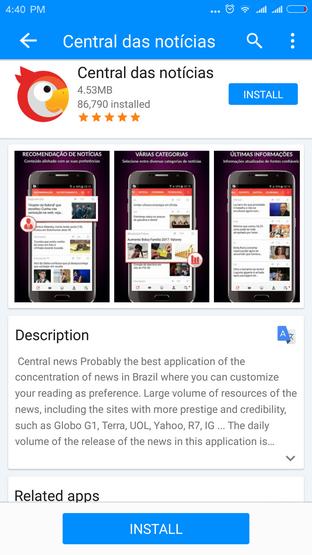 Apps Center - Скачать бесплатно Apps Center для Android OS в категории Другие утилиты